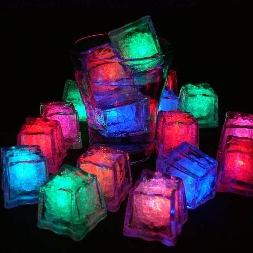 Led Light Up Ice Cubes Ice Cube Lights Led Ice Cubes Cube Light