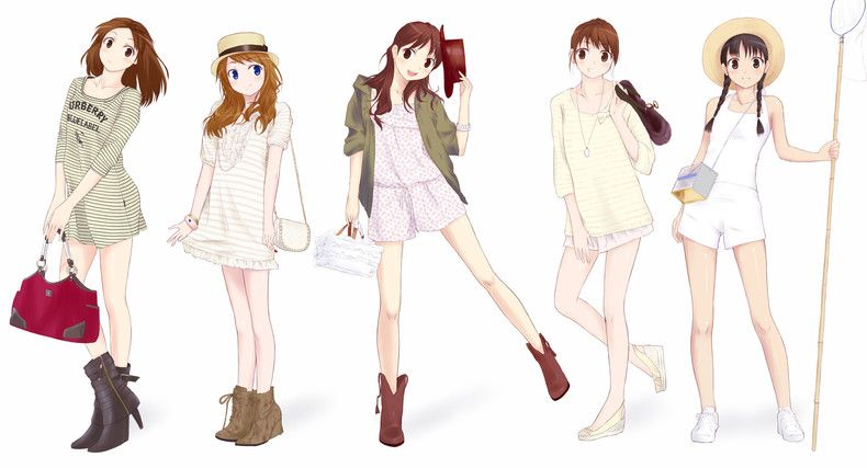 Anime Style Fashion Anime Fashion Pinterest Anime