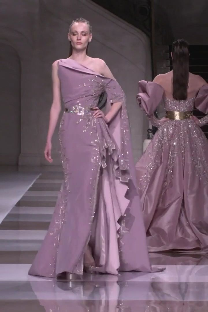 Ziad Nakad Look 52 Fall Winter 2019 2020 Haute Couture Collection Prom Dress Couture Haute Couture Dresses Couture Dresses