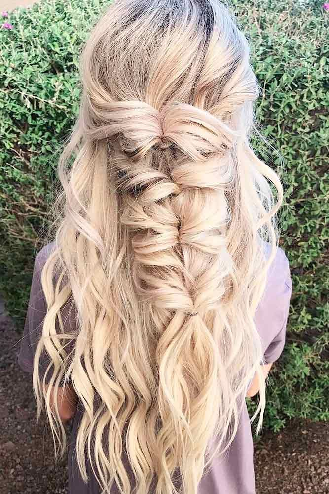 24 Cute Hairstyles for a First Date | Romantic hairstyles, Hair ...