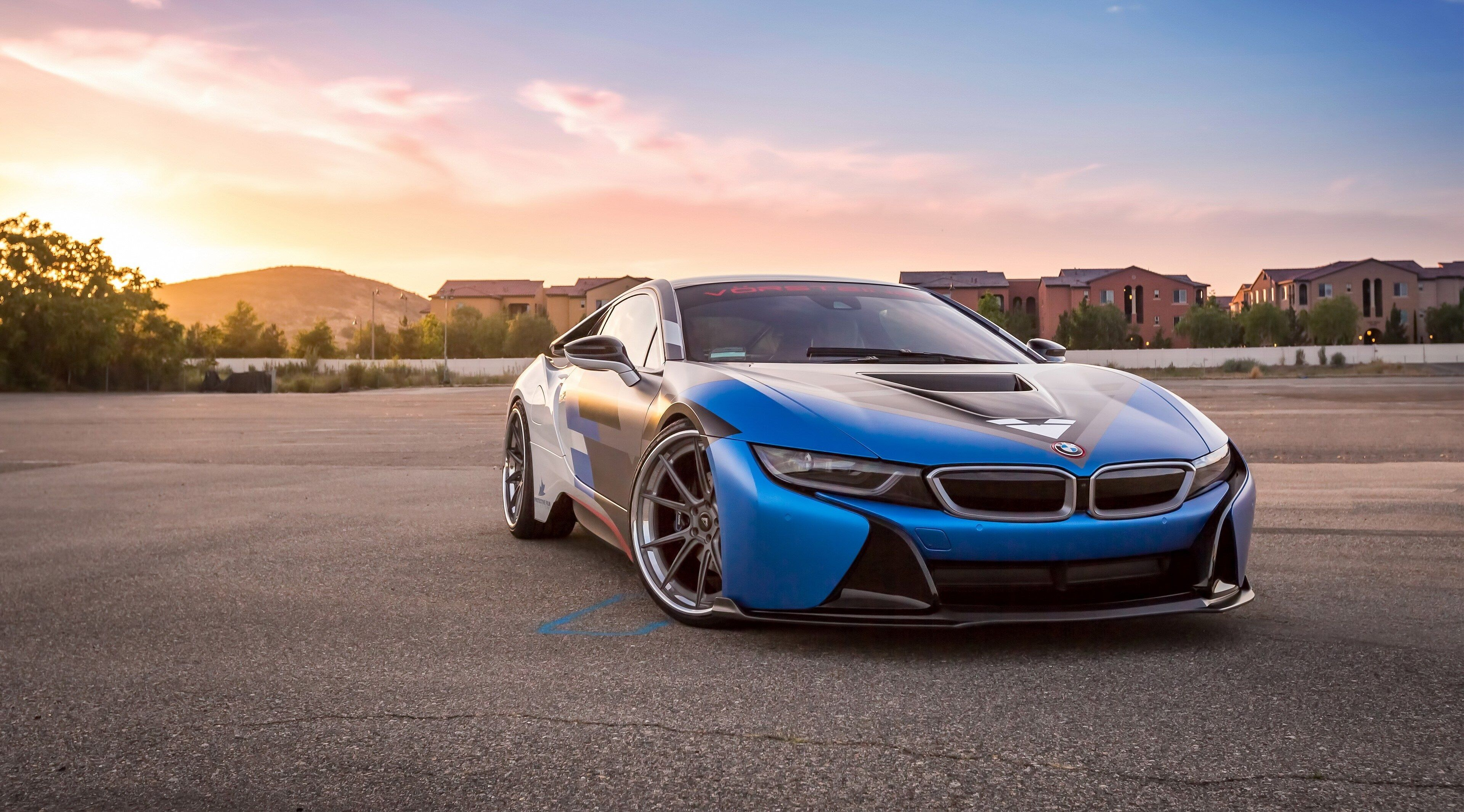 3840x2130 Vorsteiner Vr E Bmw I8 4k Download Pictures For Pc Bmw