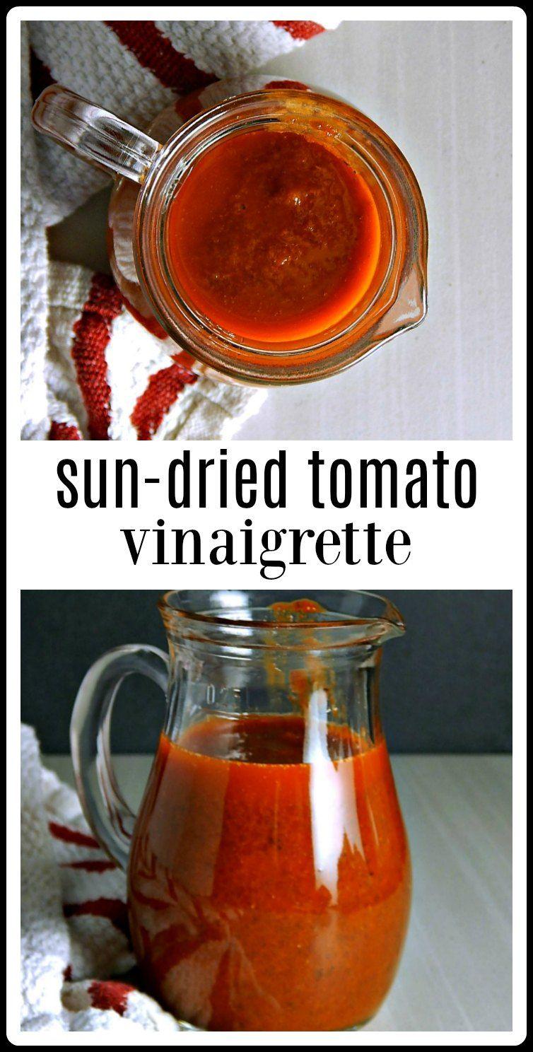 Sun Dried Tomato Vinaigrette Sun Dried Tomato Dressing Recipe