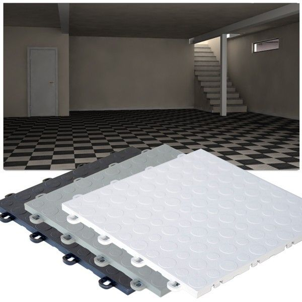 New Basement Interlocking Tiles