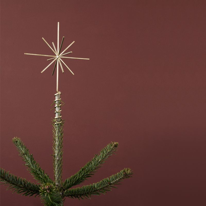 Ferm Living Brass Christmas Tree Top Star - The Ce
