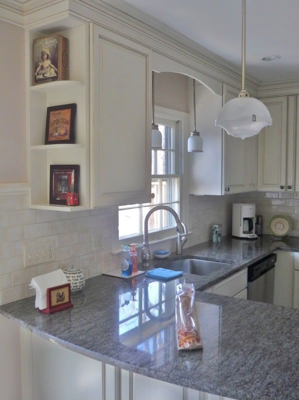 pendent lighting kitchen windows over sink   and went