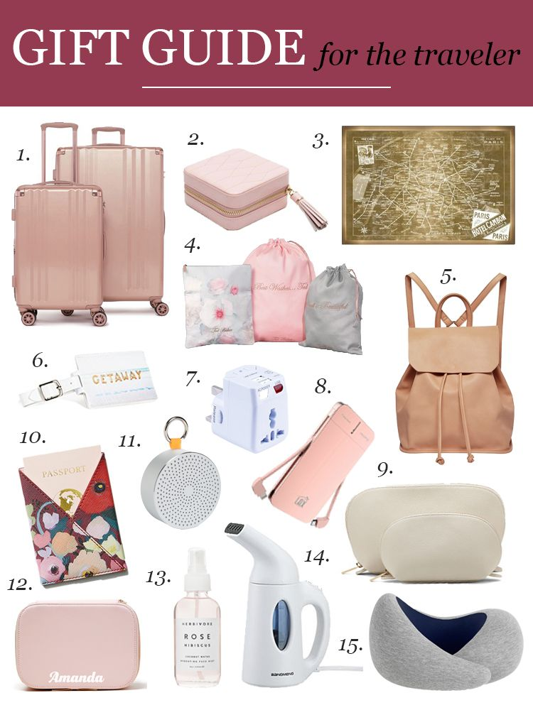 Know Somebody Who Loves To Travel Find Them The Perfect Gift With This Gift Guide For The Traveler Girly Christmas Gifts Girlfriend Gifts Anniversary Gifts