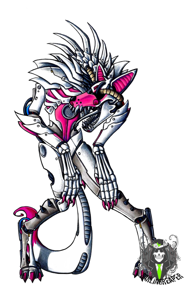 fnaf funtime foxy by deathrage22 five nights at freddy s