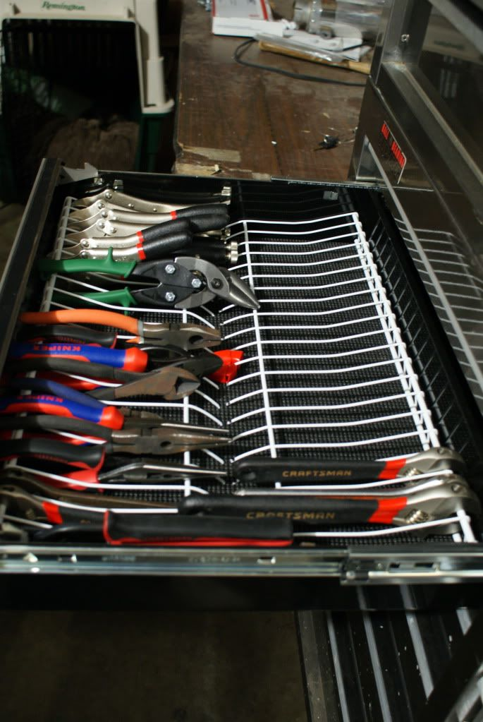 garage tool organizer pliers rack before and after page 2 the garage journal 15753