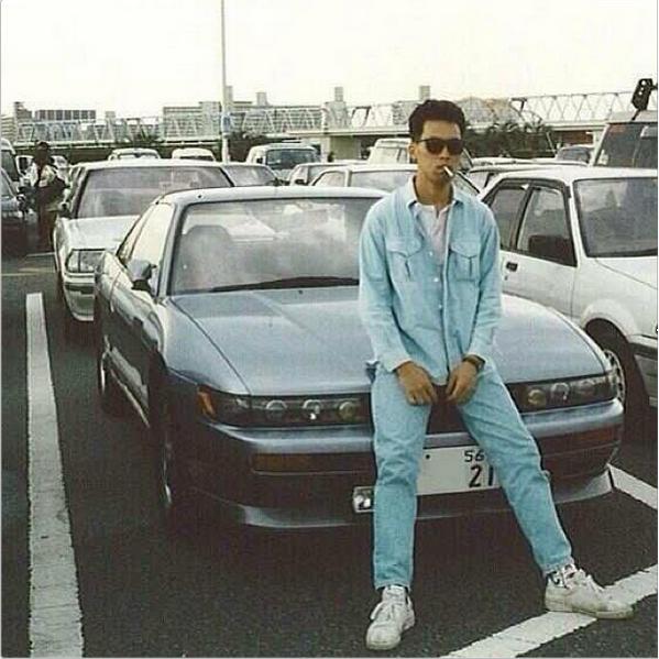 Taking a smoke break. Japan 1990's | Japanese sports cars ...