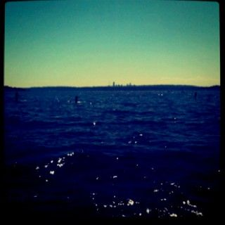 kirkland view of seattle! picture-perfect