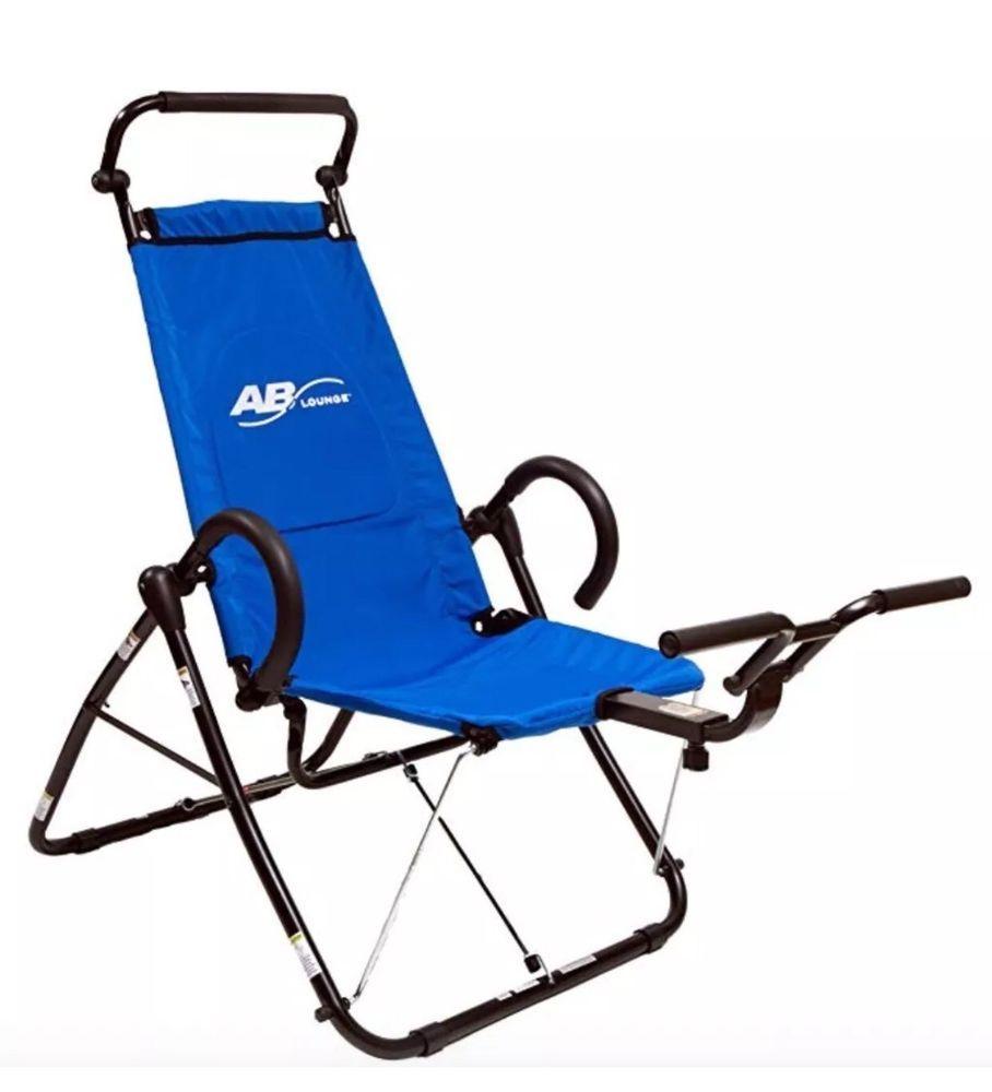 Ab lounge sport abdominal core trainer fitness machine