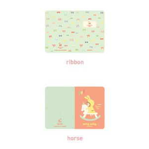 Korean stationery mini note. Cute illustrations printed 6 type diary. Diary for girls. - morecozy