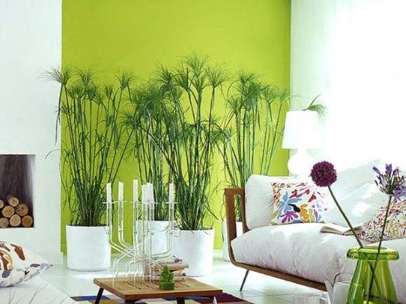 Decorar la Sala con Paredes Verdes 3 | Colors palette | Pinterest ...