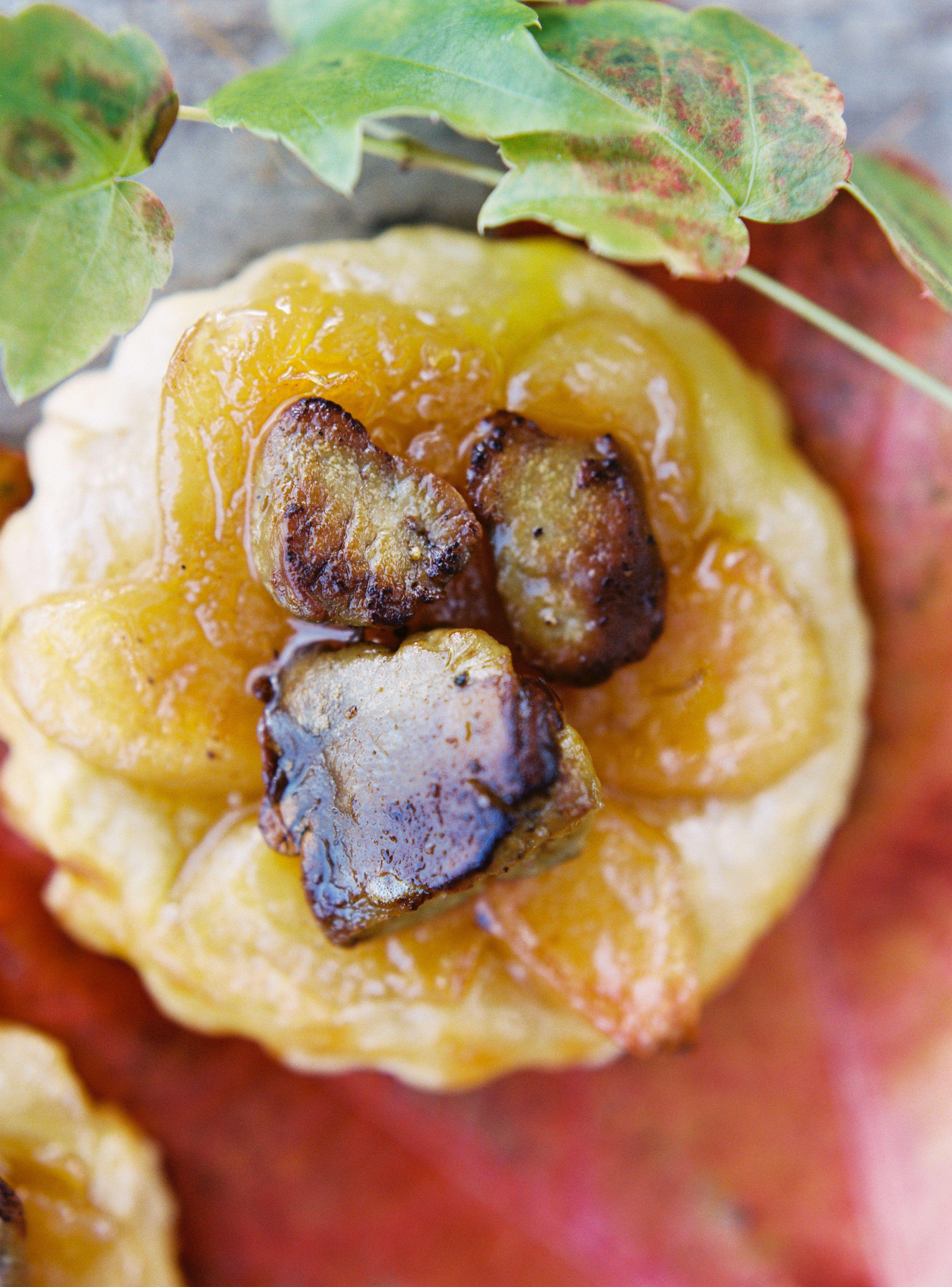 Mini Tatin De Coings Au Foie Gras Coing Alimentation Tatin