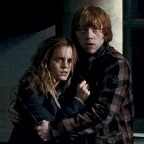 Hermione granger and ron weasley forever in love by tess icons ron hermione harry - Hermione granger et ron weasley ...