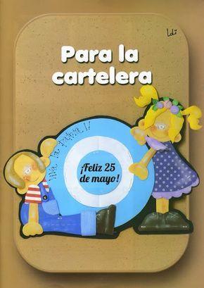 Revistas de manualidades gratis foami pinterest goma for Escarapelas en foami