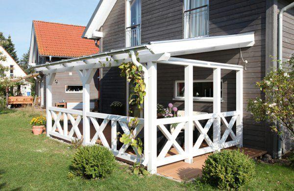 Schöne Terrassenüberdachung Wenn die Terrasse den