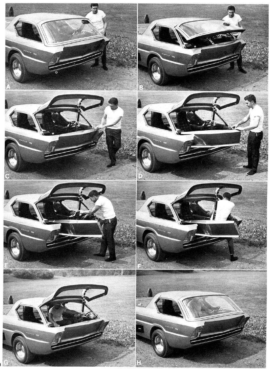 Half concept car half custom the dodge deora was designed by former gm designer harry bentley