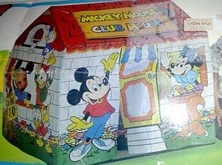 Mickey Mouse club house tent & Mickey Mouse club house tent | Favorite 80s Toys | Pinterest ...