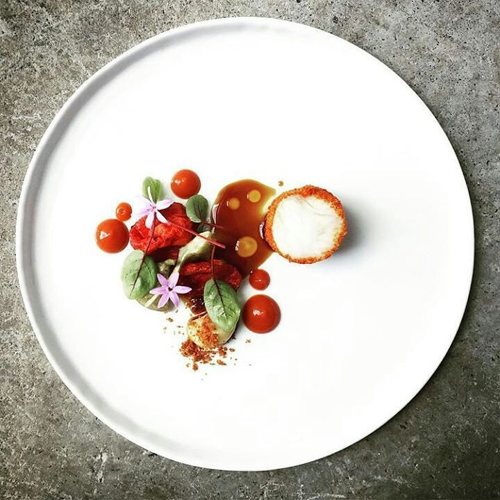 Canadian Chefs On Instagram Poached Kingklip Red Pepper Dust Concentrated Tomatoes Glazed Artichokes Roasted Green Stuffed Peppers Food Perfect Food