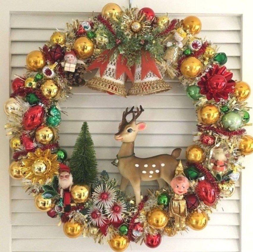 50 Amazing Vintage Christmas Ornament Ideas Christmas Ornament