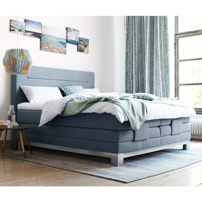 boxspring bett luzern beliebtes boxspringbett mit einer. Black Bedroom Furniture Sets. Home Design Ideas