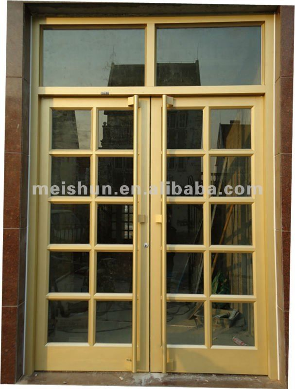Aluminum Frame Glass Door Used Commercial Ms 1102