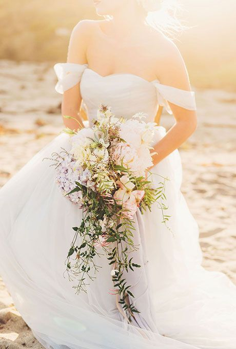 Wedding Flowers Bouquets Wedding Dresses White Beach Wedding