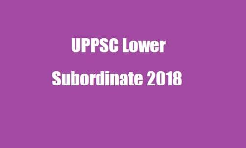 The Uttar Pradesh Public Service Commission Is About To Release The Notification For Uppsc Recruitment For The Various Subordinate Exam Online Application Form