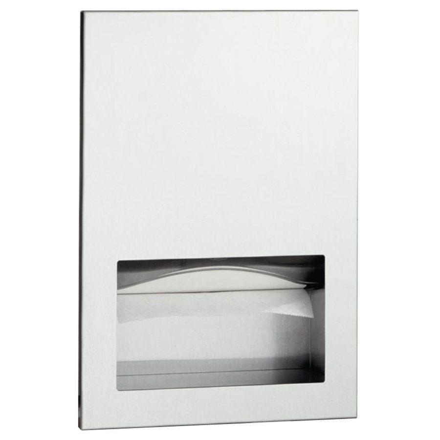 Commercial Bathroom Paper Towel Dispenser bobrick b35903 trimlineseries c fold or multifold recessed paper