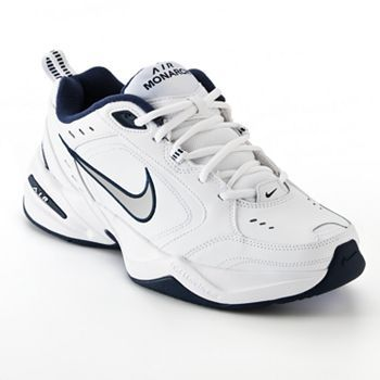 Nike Air Monarch IV Men's Cross-Training Shoes, Size: 7, White