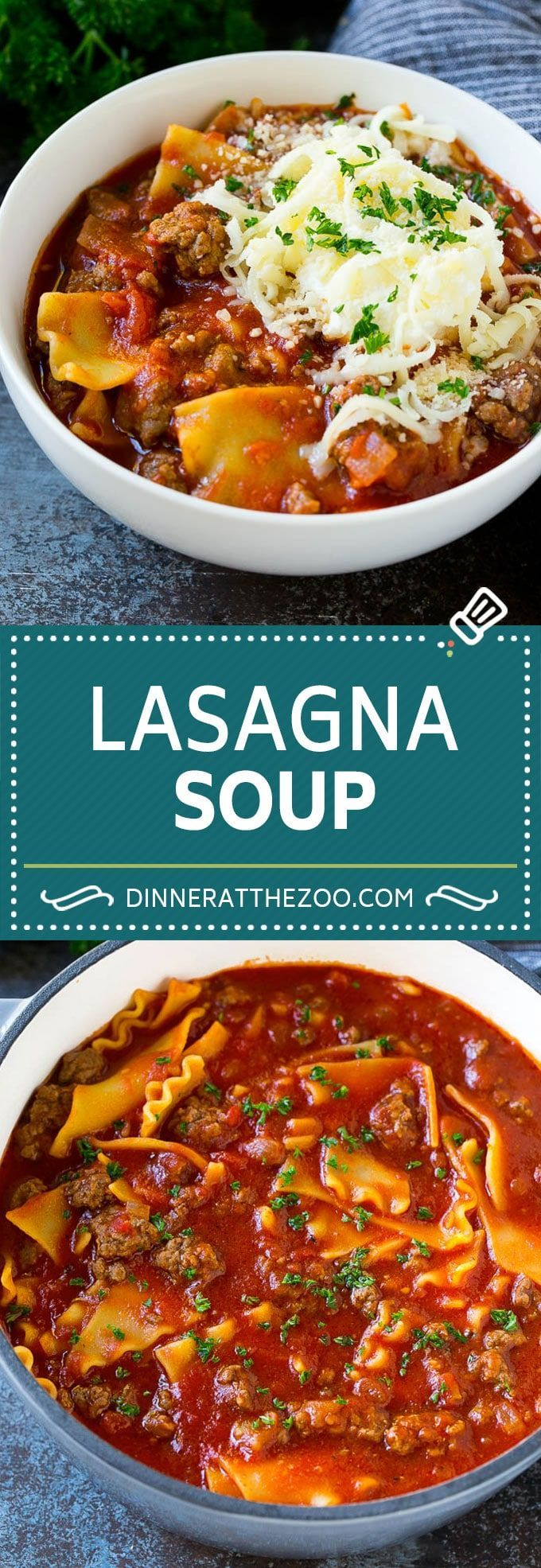 Lasagna Soup Recipe Italian Soup Ground Beef Soup Lasagna Pasta Soup Beef Dinner Dinneratthezo Lasagna Soup Recipe Italian Soup Soup With Ground Beef