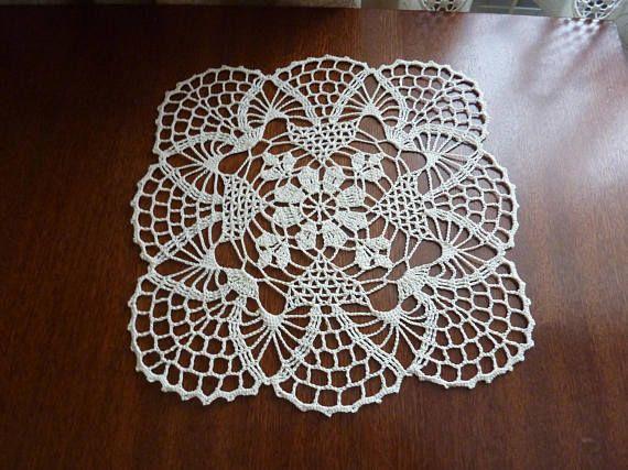Crochet Doilywhite Doilyoval Doilyrugslace Doilycrochet