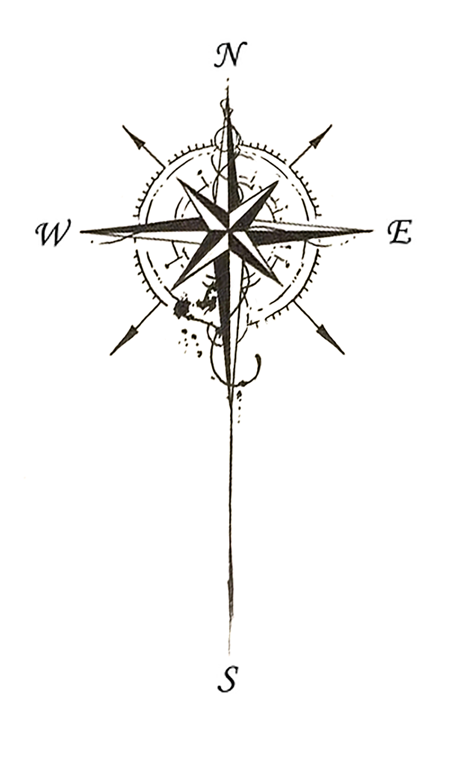 100 Awesome Compass Tattoo Ideas Thetellmewhy Compass Tattoo Compass Tattoo Design Tattoo Designs