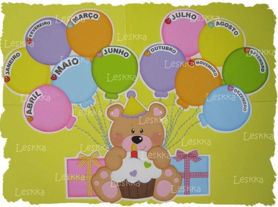 Cartel cumpleaños osito de Leskka | foami | Pinterest