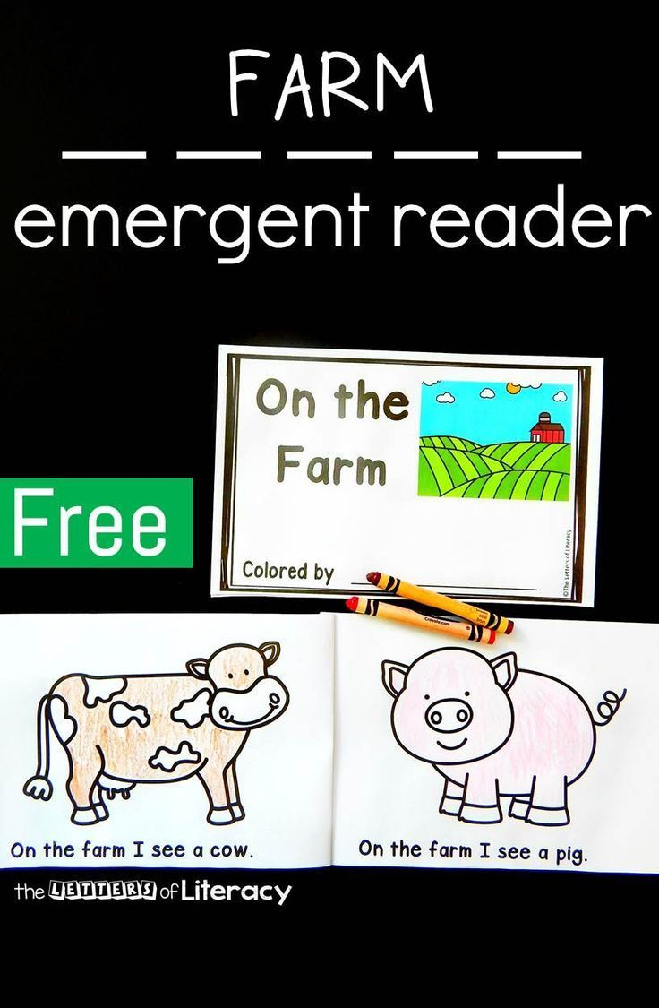 Farm Emergent Reader | Pinterest | Emergent readers, Farming and ...