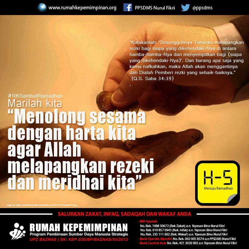 Pin oleh Rumah Kepemimpinan di Ramadhan Rumah Kepemimpinan