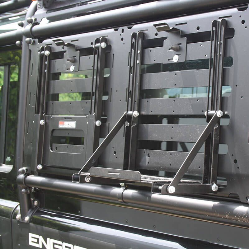 Jerry Can Holder Foldable By Engage4x4 Defender Camper Land Rover Defender Land Rover