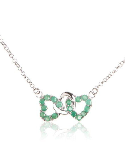 1.70 Carat Genuine Emerald Heart Shape 925 Sterling « Holiday Adds