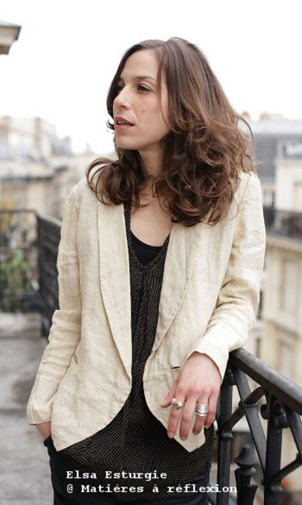 recherche veste en lin femme)