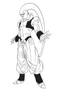 Dibujo De Majin Buu Para Colorear Dibujos Para Imprimir Akira Art Anime