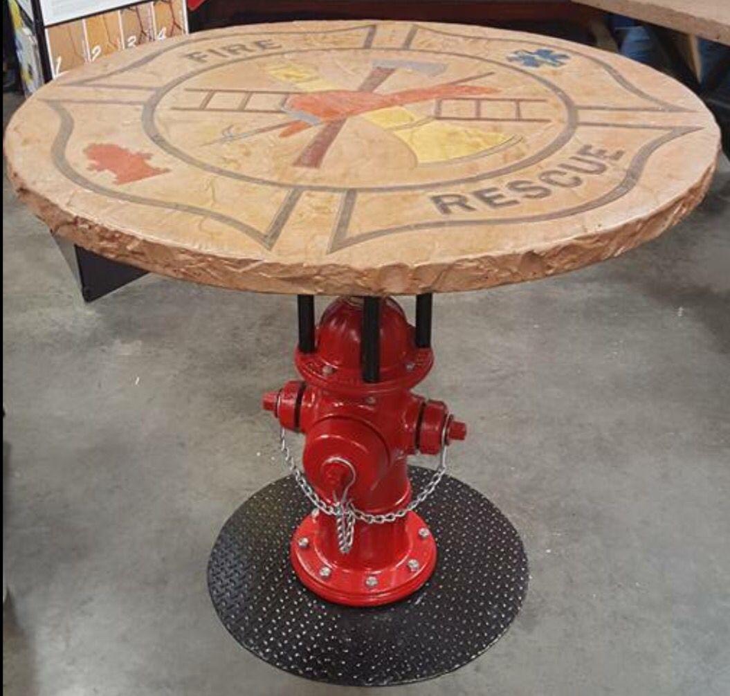 Calicoproducts Com Fire Rescue Table Top Concrete Mold Concrete