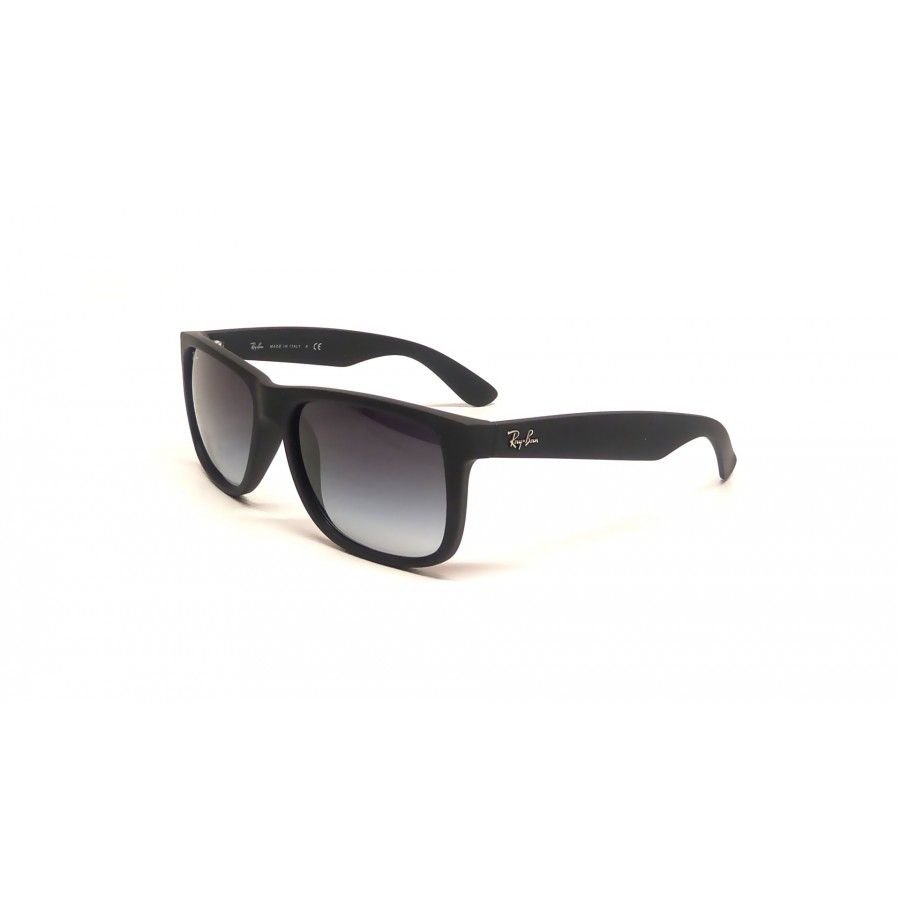 3441588987a6f Ray-Ban RB 4165 Justin 601 8G Black frame with gradient lenses http