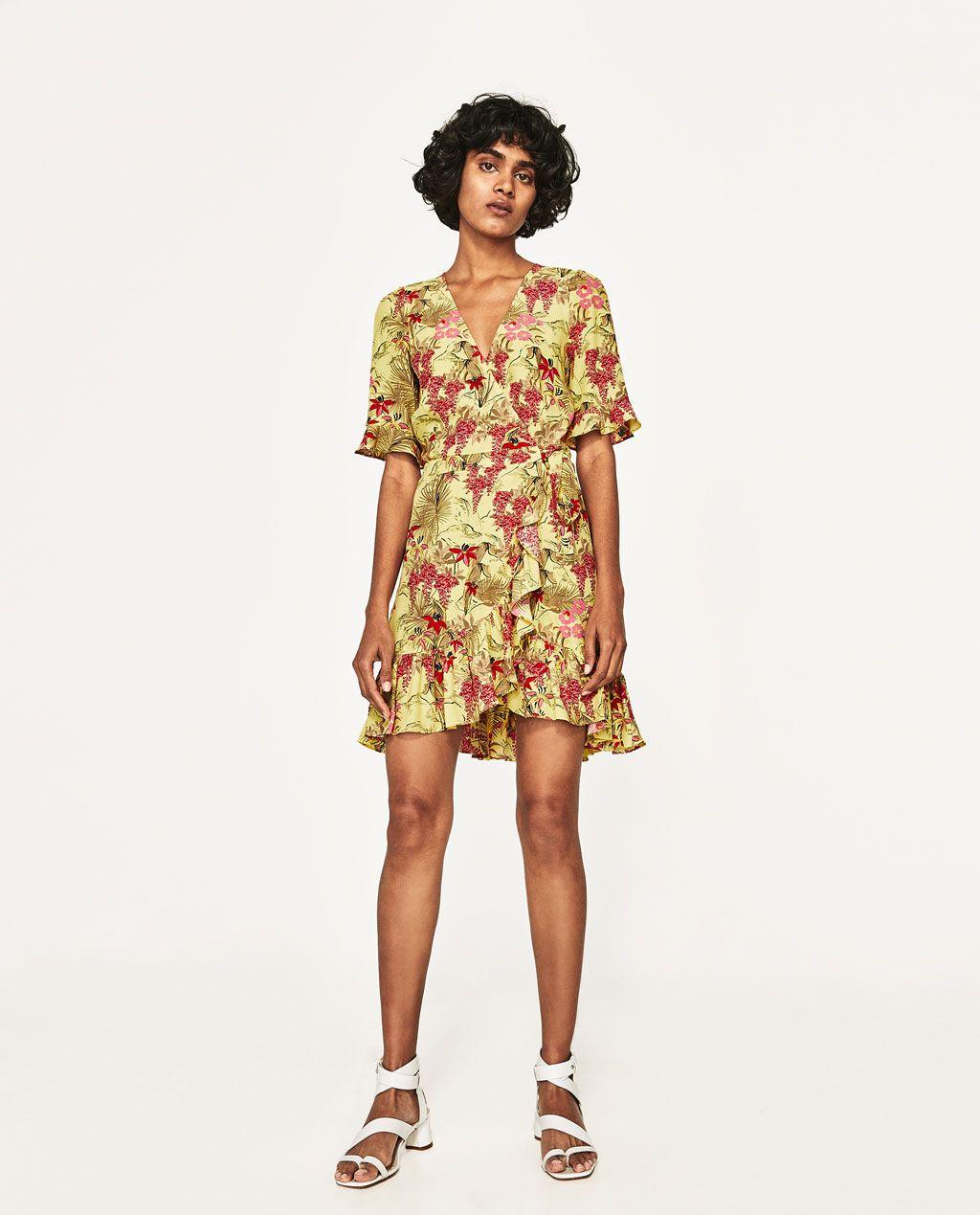 883e2377 FLORAL PRINT DRESS-DRESSES-SALE-WOMAN   ZARA United States   Cuts ...