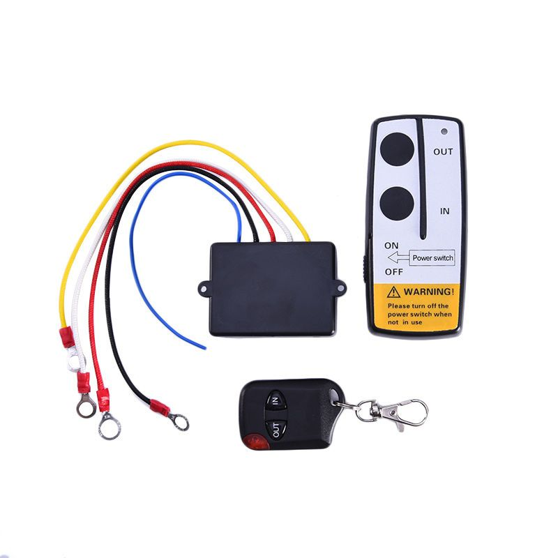 13 01 Aud Wireless Dc 12v 7a Relay Rf Key Remote Control 50ft