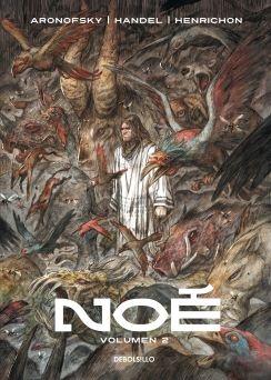 """""""Noé 2 """" de Darren Aronofsky.  dijo el Creador: «Borraré de la faz de la tierra a los hombres que he creado...» Génesis 6:7  Los hombres saben que su única oportunidad de sobrevivir es subir a bordo del arca que Noé ha construido... Pero no habrá excepciones. Empieza la batalla y Noé permanece inflexible para llevar a cabo la misión divina que le ha sido encomendada. Cuando muere el último gigante, se desata el diluvio universal."""