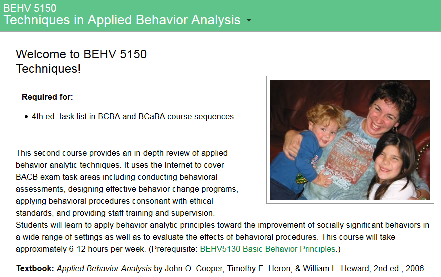 This second course provides an indepth review of applied