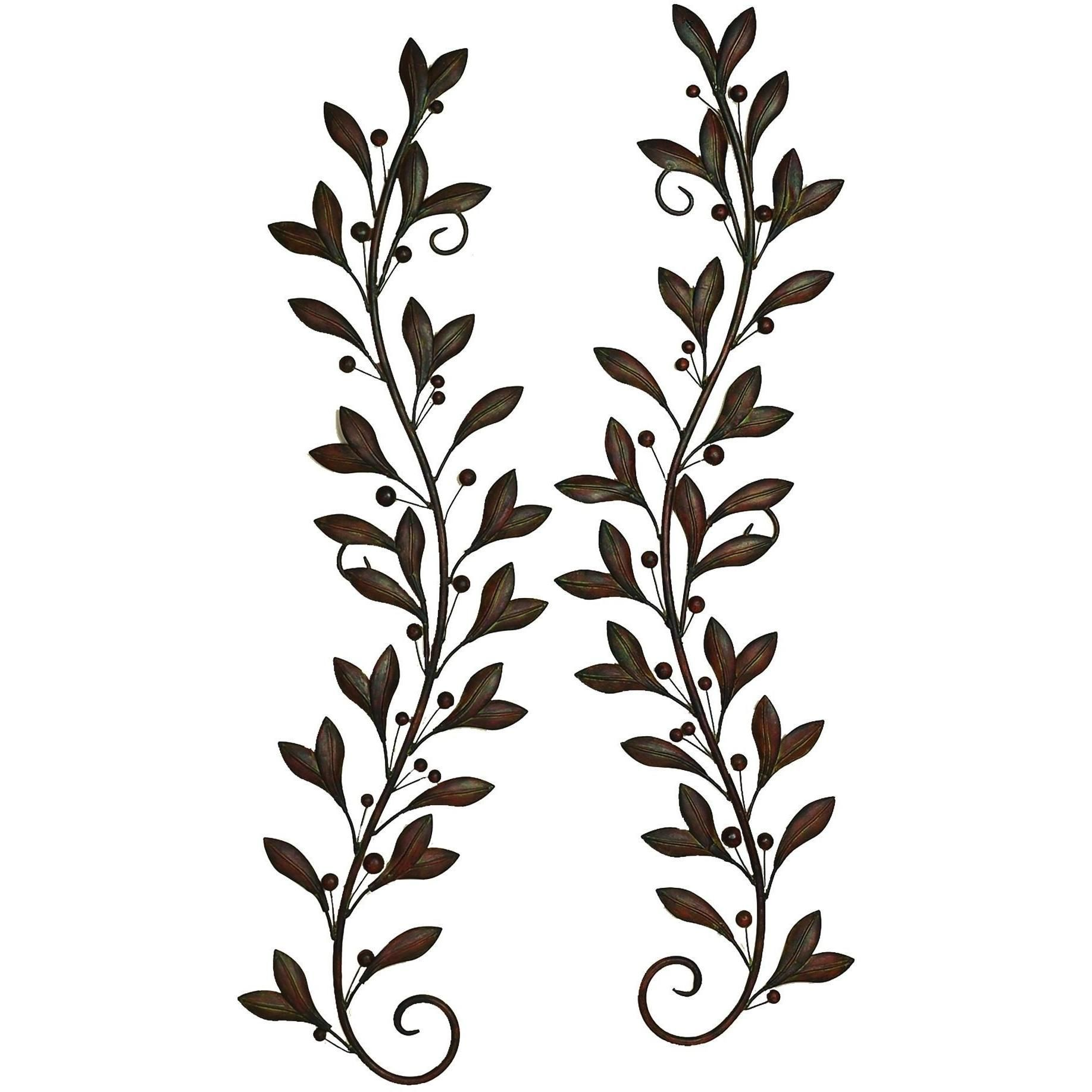 Metal wall decor pair attracts every nature lover products