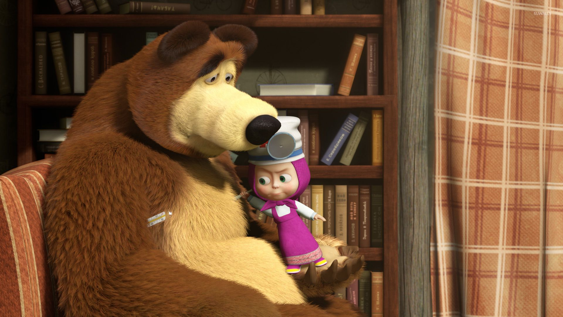 Masha And The Bear 15 Wallpaper Cartoon Wallpapers 46518