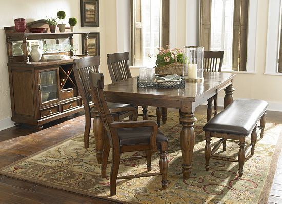 Dining Rooms Woodbridge Leg Table Havertys Furniture